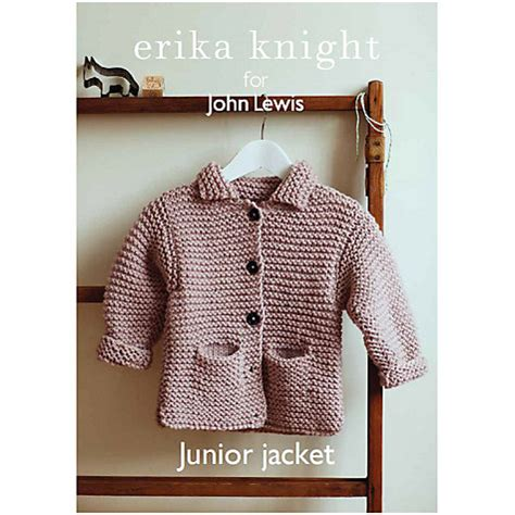 pattern paper john lewis buy erika knight for john lewis junior jacket knitting