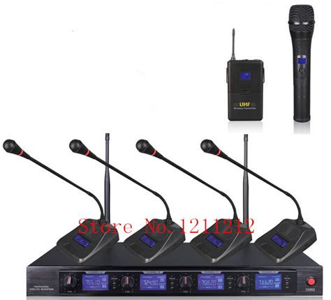 ur4d wireless microphone one for four shure handheld