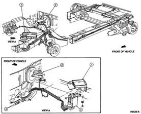 Brake Line System Diagram Free Schematics 1999 Chevy 2500 Brake System Ford