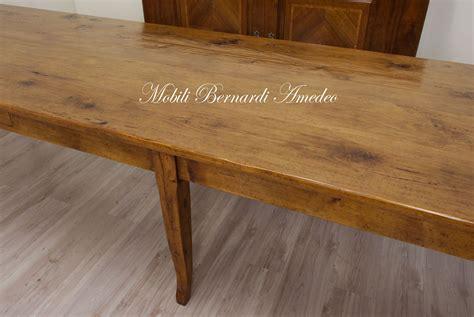 tavolo 4 metri tavoli in legno massello vecchio riciclato recuperato tavoli