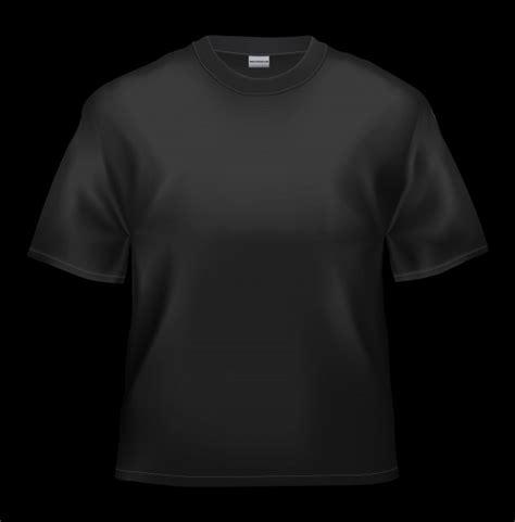 Blank Black T Shirt Black T Shirt Template