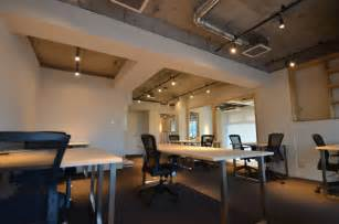 exposed ceiling lighting leibal s2g is a minimalist office space located in