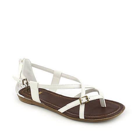 shiekh sandals shiekh hazie ah white flat strappy sandals