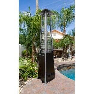 hiland patio heaters hiland glass patio heater bronze