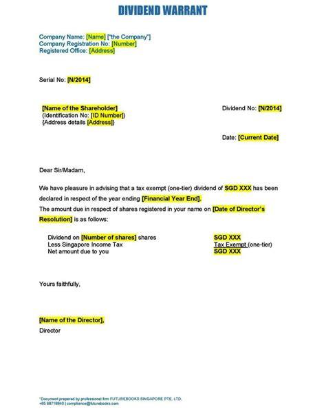 dividend declaration form template dividend declaration form template sletemplatess