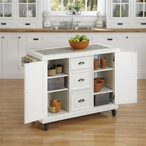 White Kitchen Island Cart Outstanding White Kitchen Island Carts With 3 Drawer Kitchen Cart And Overlay Cabinet Door