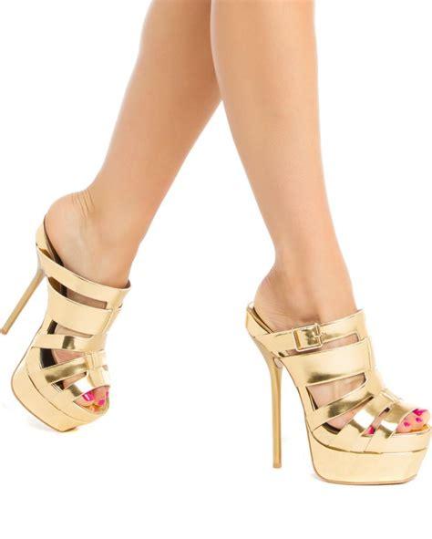 high heel mule slippers 2746 best rick 180 s high heel mule corner images on