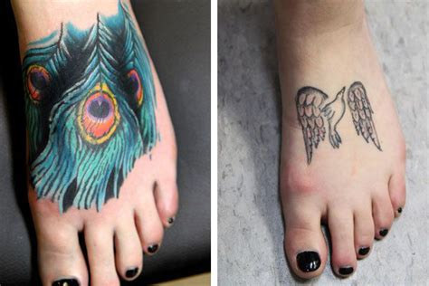 feather cover up tattoo peacock feather cover up on foot best