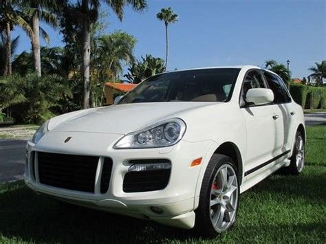 automobile air conditioning service 2009 porsche cayenne electronic toll collection buy used 2009 porsche cayenne gts sport utility 4 door 4 8l in miami beach florida united