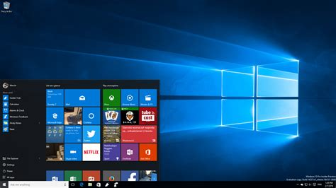 wallpaper windows insider windows 10 pc insider preview redstone desktop by