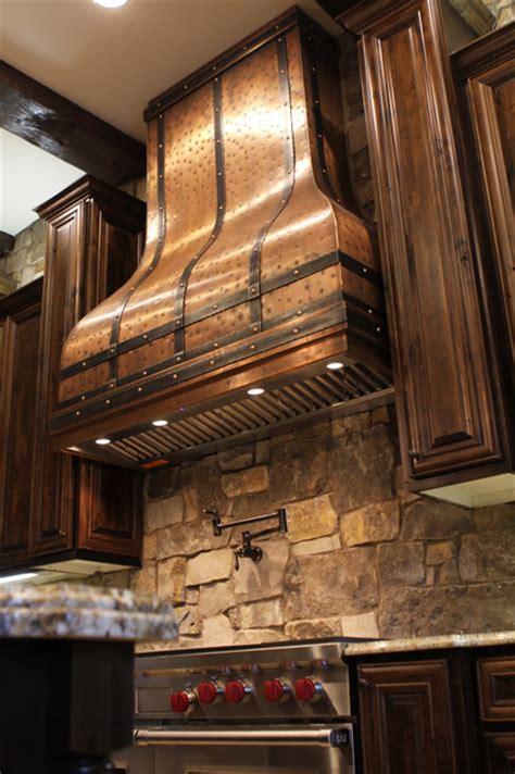 Camillia Kitchen Copper Range Hood   by Art of Rain