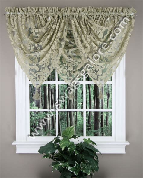 waterfall valance pattern hadley waterfall valance curtains