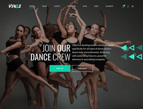 theme dance names 7 best wordpress themes for dance studios 2018 athemes