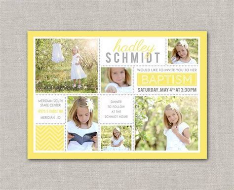 baptism place card template 40 best baptism lds card templates images on