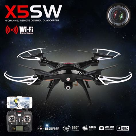 Drone X5sw drones gt drones loisir gt syma x5sw explorers 2 avec 233 ra hd 2 0mp noir
