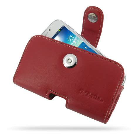 Box Samsung Galaxy S4 Zoom samsung galaxy s4 zoom leather holster pdair pouch