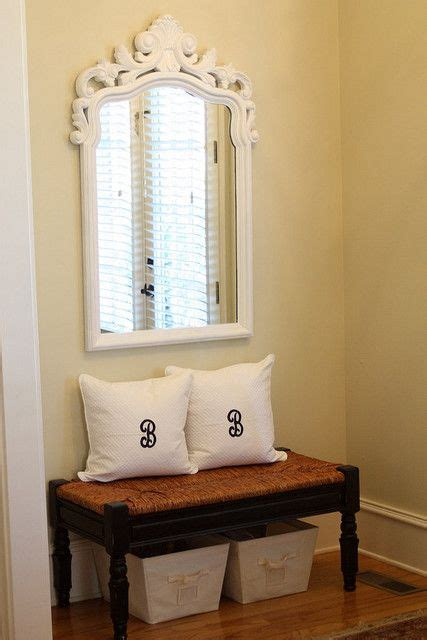 entryway storage bench with mirror entryway small bench with pillows and storage tubs