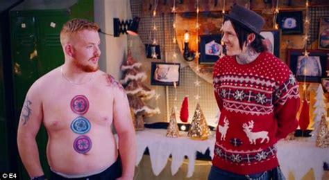Tattoo Fixers Gingerbread Man | e4 s tattoo fixers sees trio reveal their bizarre