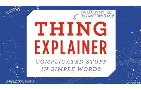 Thing Explainer Complicated Stuff In Simple Words Ebook E Book gift books for your coffee table