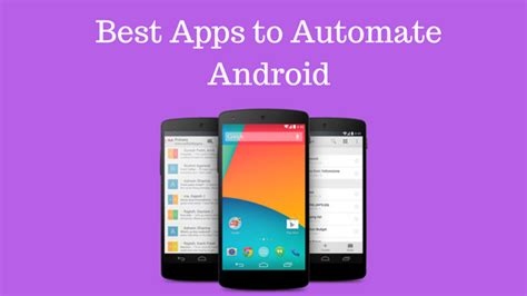 automate for android best apps to automate android