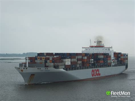oocl schedule to oocl chicago container ship imo 9199270