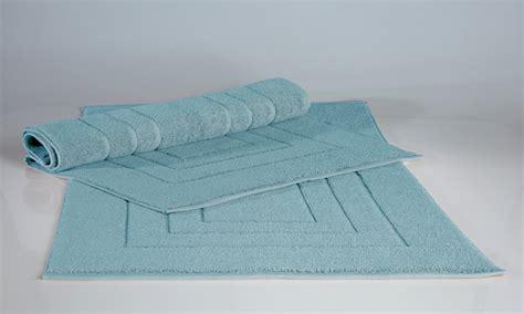 tappeti bagno cotone fino a 61 su tappeti per bagno in cotone groupon