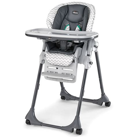 chicco reclining high chair chicco polly double pad highchair empire
