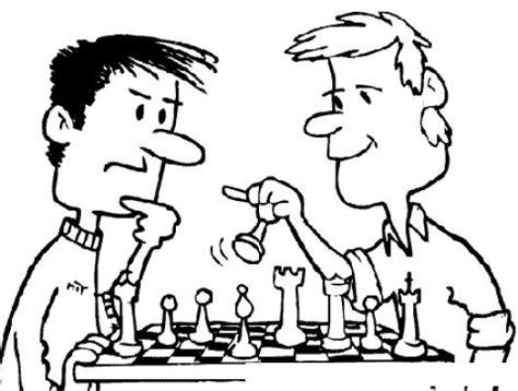 jaquemate dibujo de un juego de ajedrez para pintar y