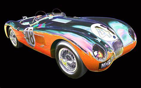 1953 jaguar c type photograph by allan price