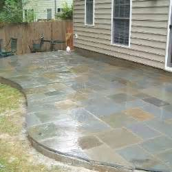 backyard tile ideas slate tile patio outdoor projects the