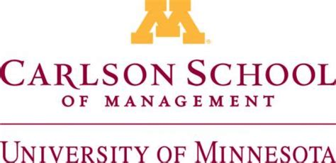 Carlson School Of Management Ranking Mba by Carlson School Of Management
