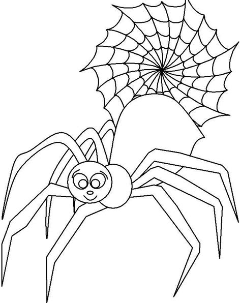 spider outline coloring page spider outline az coloring pages