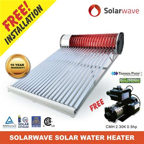 Solar Wave Water Heater solarwave solar water heater end 10 7 2017 6 15 am myt