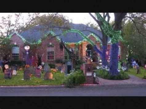 amazing nightmare before christmas halloween decorations