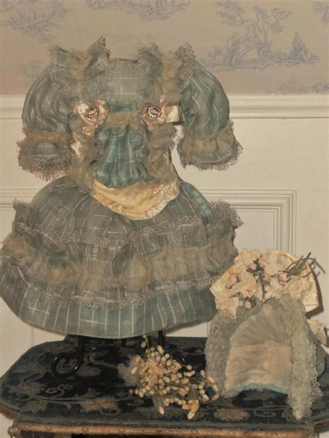 very beautiful in french very beautiful french bebe silk costume with bonnet