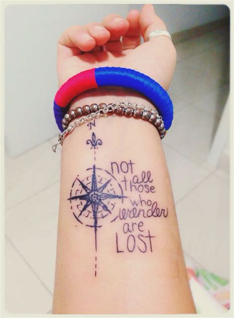 all tattoos not all those who wander are lost tattoos