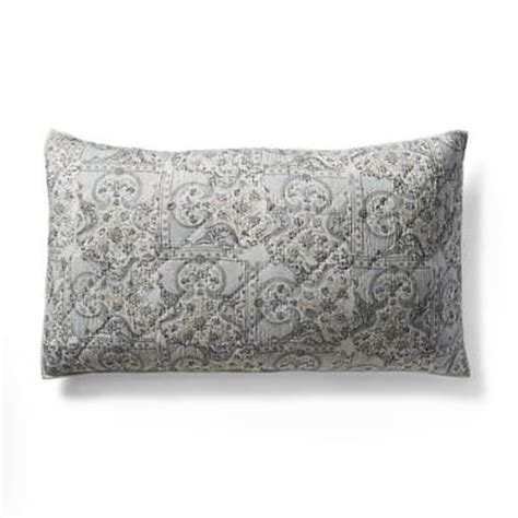 Savoy Pillow by Savoy Quilted Pillow Sham Frontgate