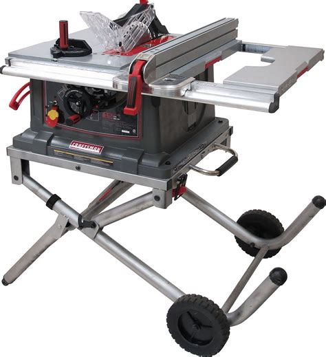 craftsman bench saw craftsman 10 quot jobsite table saw