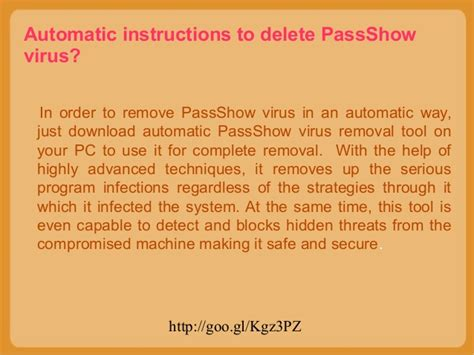 que es layout manager pass show virus immediately uninstall pass show virus