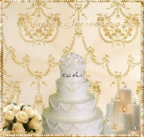 Wedding Background Gif by Happy Wedding Anniversary Picture 127105692 Blingee