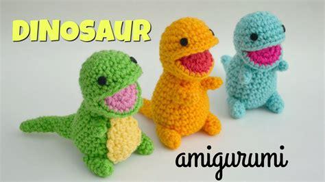 dinosaur amigurumi tutorial  crochet pattern open