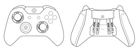 Coloring Page Xbox Controller by Xbox Playstation Pc Scuf Gaming