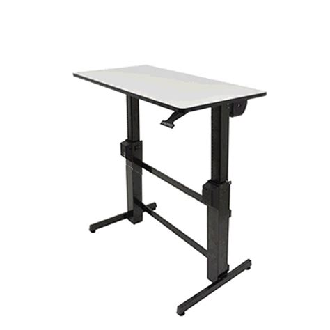 Buy Ergotron Workfit D Sit Stand Desk From Bad Backs Workfit D Sit Stand Desk