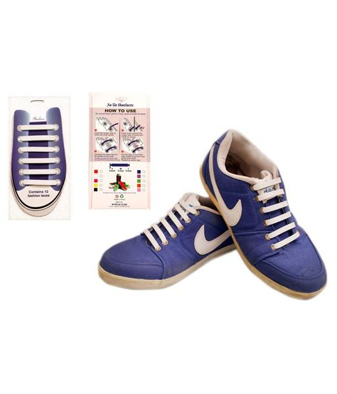 wype blue white shoe laces price in india buy wype blue