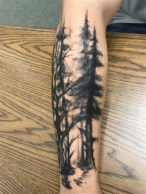 dark matter tattoo forest eric noble matter st