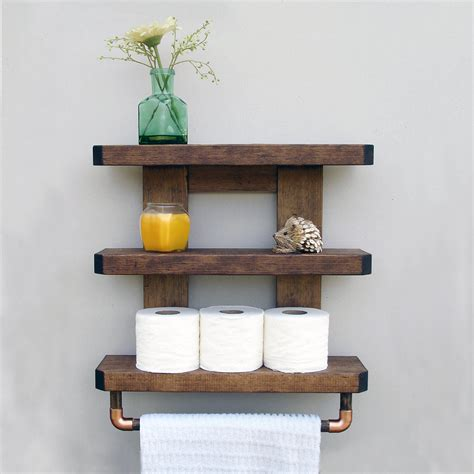 Rustic Bathroom Storage Rustic Bathroom Storage