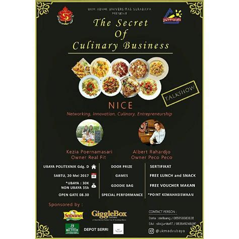 Harga Secret Surabaya the secret of culinary bussiness universitas surabaya