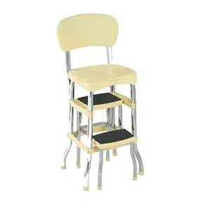 step stool chair cosco 11 120cby1 retro chair step stool yellow