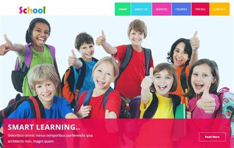 free bootstrap templates for online education school educational html5 template webthemez