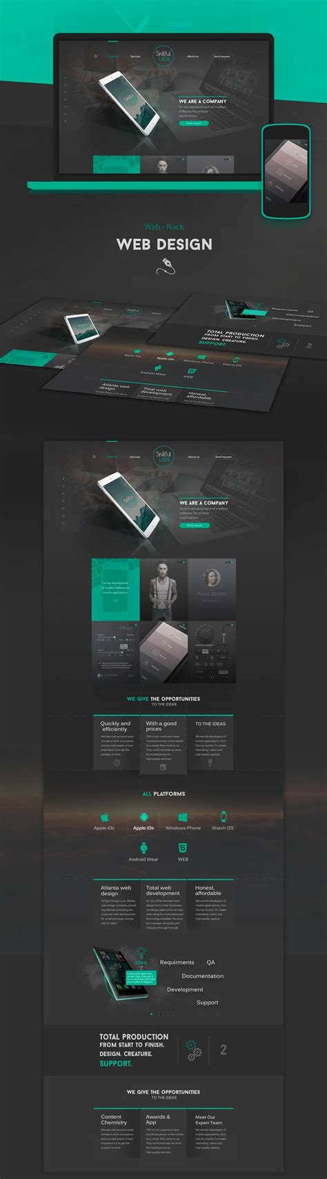 web design ideas 25 best ideas about web design on pinterest website layout ui design and web ui design